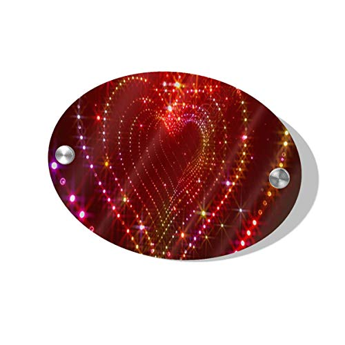 2005 Ladies Sparkle - Rod Whitehead Sparkle Glitter Heart Tunnel Signs for Door Home Wall Businesses Kitchen Novelty Massage Spa Meetings Family Funny Decor Signs for Man Women Kids Girls Boys