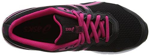 Asics Gs Gel zaraca Niños Peacock Unisex De Zapatillas Negro 5 pink Para white black Running 4Zw4xqB