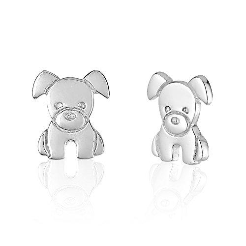 Childrens Sterling Silver Inspired Earrings