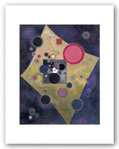 "Accent en Rose, 1926 by Wassily Kandinsky 10""x8"" Art Print Poster"