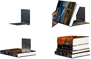 Floating bookshelves concealed invisible for Furniture 99 invisible