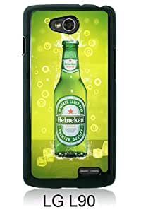 Recommended Design Phone Case heineken Black Best Popular Sale LG L90 Case