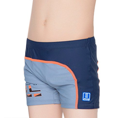 Aivtalk Boys Trunks Boxer Briefs with Swimming Hat Mesh Lined Swim Shorts Trunks 8-9 Y - Trunks Swimming Professional