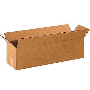 boxes fast bf2266 long cardboard boxes 22 x. Black Bedroom Furniture Sets. Home Design Ideas