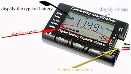 Cutogain Testeur de tension de la batterie LiPo LiFe Li-ion NiMH