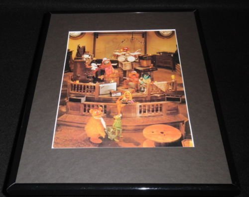 [The Muppet Movie Framed 11x14 Photo Display Dr. Teeth and The Electric Mayhem] (Teeth Movie Online)