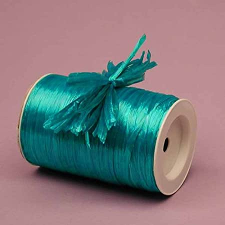 Premium Quality Rayon Raffia Ribbon - 1/4 Inch X 100 Yards (Gold Pearlized) Raffia Ribbon Inc