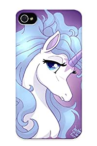Special Yellowleaf Skin Case Cover For Iphone 4/4s, Popular The Last Unicorn Phone Case For New Year's Day's Gift