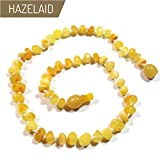 Hazelaid (TM) 11'' Pop-Clasp Baltic Amber Milk & Butter Necklace