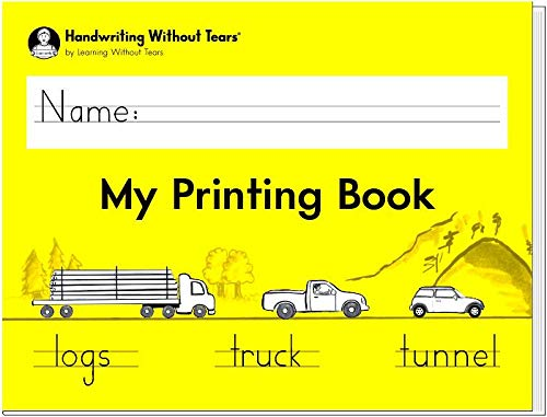 - Handwriting Without Tears My Printing Book - Grade 1