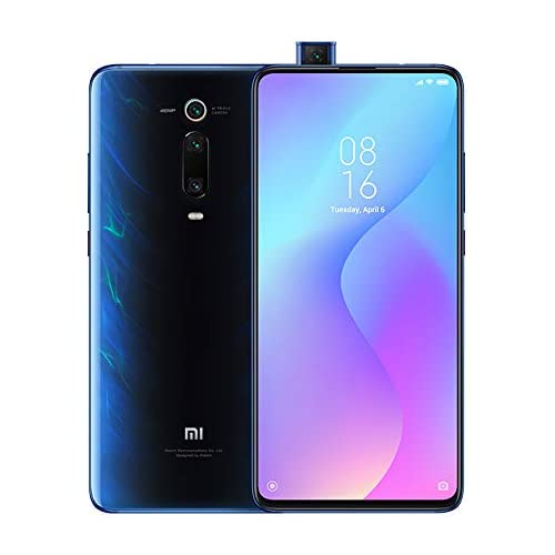 chollos oferta descuentos barato Xiaomi Mi 9T Smartphone 6 128 GB Pantalla AMOLED Full Screen de 6 39 Selfie Pop up Triple cámara de 13 48 8 MP con NFC 4000 mAh Qualcomm 730 Versión Global Azul