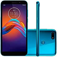 Smartphone Motorola E6 Play, 5.5, 32gb, Android 9.0, Dual Chip, Câmera 13mp, Royal