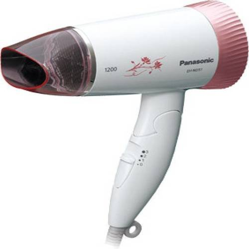 Panasonic 1000 Watts Travel Hair Dryer for Europe, Australia, Asia and Africa, 220 Volts (Not for USA)