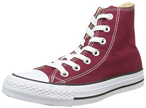 Converse Womens Ctas Hi High Top Trainers Red Size 38 (5.5Men's/7.5 women's) by Converse