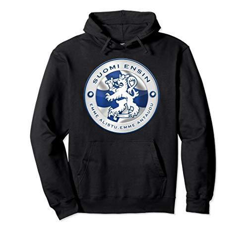 FINLAND Hoodie Finnish Flag Shirt Travel Gift Souvenir