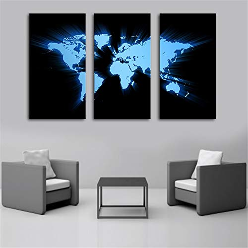 Amazon.com: MAGA - Lienzo decorativo para pared, 3 piezas ...