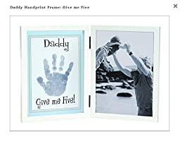 Daddy Handprint Frame - Give me Five