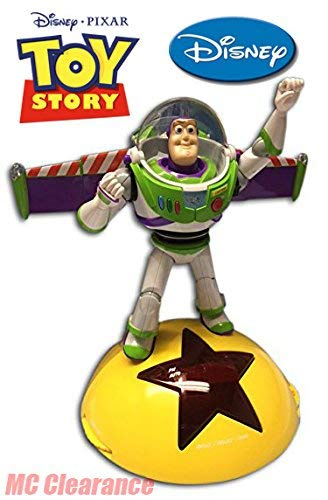 Disney Alarm Clock Radio AM/FM with LCD Display Toy Story 3 Buzz Lightyear - Toy Alarm Story Clock