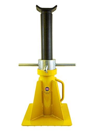 ESCO 10802 Screw Style Jack Stand, Short Model, 20 Ton Ca...