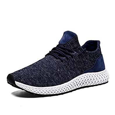 Mevlzz Mens Running Shoes Trail Fashion Sneakers Lightweight Tennis Sport Casual Walking Athletic for Men Basketball Volleyball Blue44