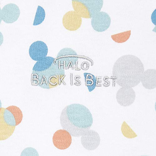 Halo Disney 100% Cotton Sleepsack Wearable Blanket, Mickey Overlay, Medium, 6-12 Months