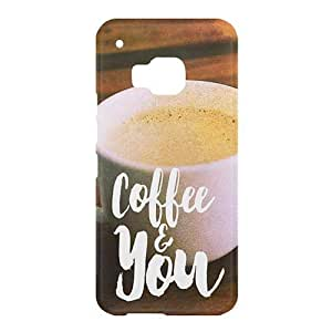 Loud Universe HTC One M9 Coffee and You Print 3D Wrap Around Case - Multi Color