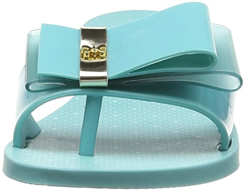 Zaxy Life Slide Turquoise Turquoise Sandales Plateforme Femme qg1pw