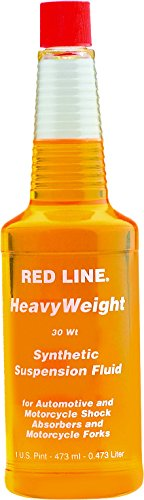 Red Line 91142 Heavyweight 30wt Suspension Fluid-16 oz, 16. Fluid_Ounces