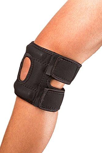 Cho-Pat Patellar (Kneecap) Stabilizer - (Left) Knee - Pain Relief for Patellar Tendonitis and Arthritic Knees (Medium, 14