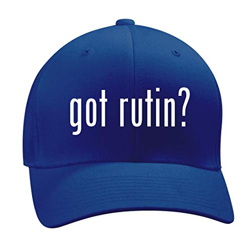 got Rutin? - A Nice Men's Adult Baseball Hat Cap, Blue, Small/Medium -