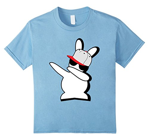 [Kids Hip Hop Rabbit Bunny Emoji Easter Shirt Boys Teen Kids Men 6 Baby Blue] (White Rabbit Dance Costumes)