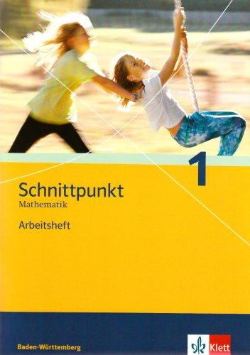 Schnittpunkt Mathematik - Ausgabe für Baden-Württemberg / Arbeitsheft 5. Schuljahr