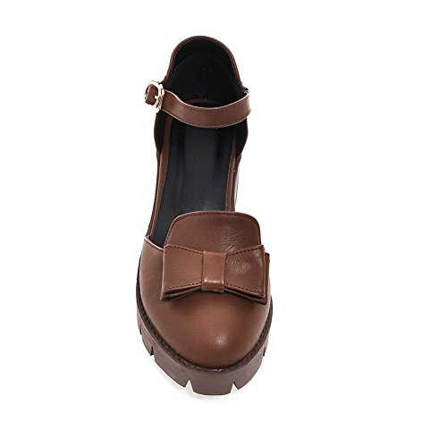Lining Non Size Marking Sandals Cold Womens Mini Brown MJS03282 1TO9 Urethane OCwqAp