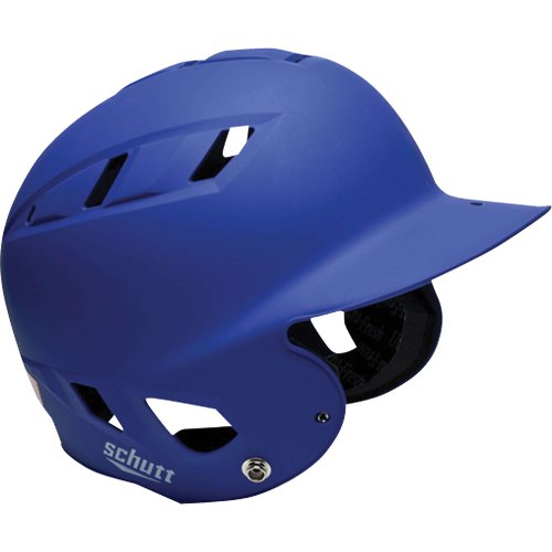 Schutt Sports AiR 5.6 Baseball Batter's Helmet, Matte Royal Blue, X-Large (Helmet X-large Blue Matte)