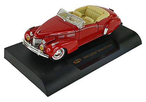 1940 Cadillac - 1940 Cadillac Sedan Series 62 Red 1/32 by Signature Models 32337