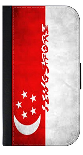 Singapore Flag Jack's Outlet Inc. Passport Cover Made in the - Singapore Outlets Metro