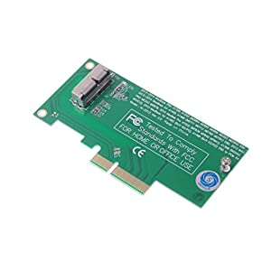 SMAKN® SSD To PCI X4 Adapter for 2013 2014 MacBook Air A1465 Pro A1502 MacBook Air A1466 Pro A1398 MD712 Desktops