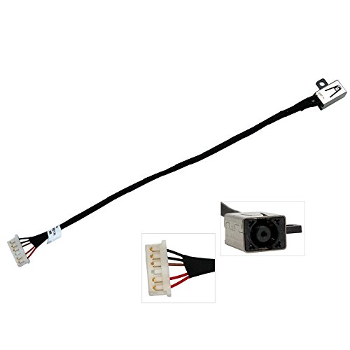CBK New DC Power Jack Harness Plug in Cable Socket for Dell Inspiron 14-3451 14-i3451 3452 14-3452 14-i3452 450.03006.0001