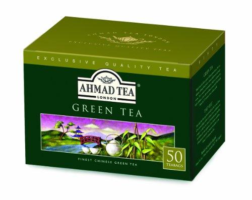 Ahmad Tea Green Tea, 50 Count (Best Green Tea Brand Uk)