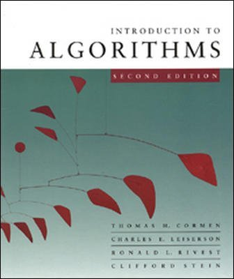 By Thomas Cormen, Charles Leiserson, Ronald Rivest, Clifford Stein: Introduction to Algorithms (Includes CD-Rom) Second (2nd) Edition