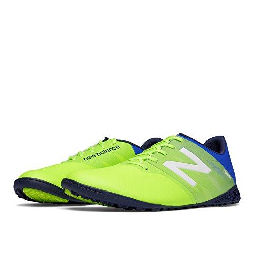 New Balance - Botas de fútbol de Material Sintético para hombre Verde verde