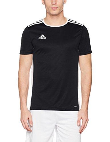Nero Entrada Adidas shirt 18 T white black Uomo BzXwRUxqX