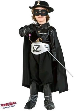 Disfraz vestido vestido disfraz Carnaval niño Zorro Banderas 1099 ...