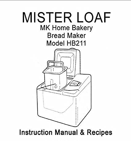MK Señor Pan Pan máquina eléctrica manual de instrucciones y ...