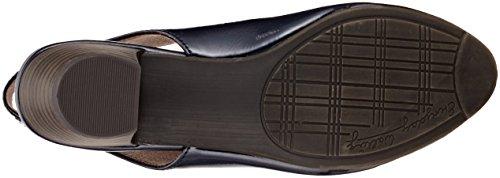 Softline 29561, Sandalias de Talón Abierto Para Mujer Azul (Navy Patent)