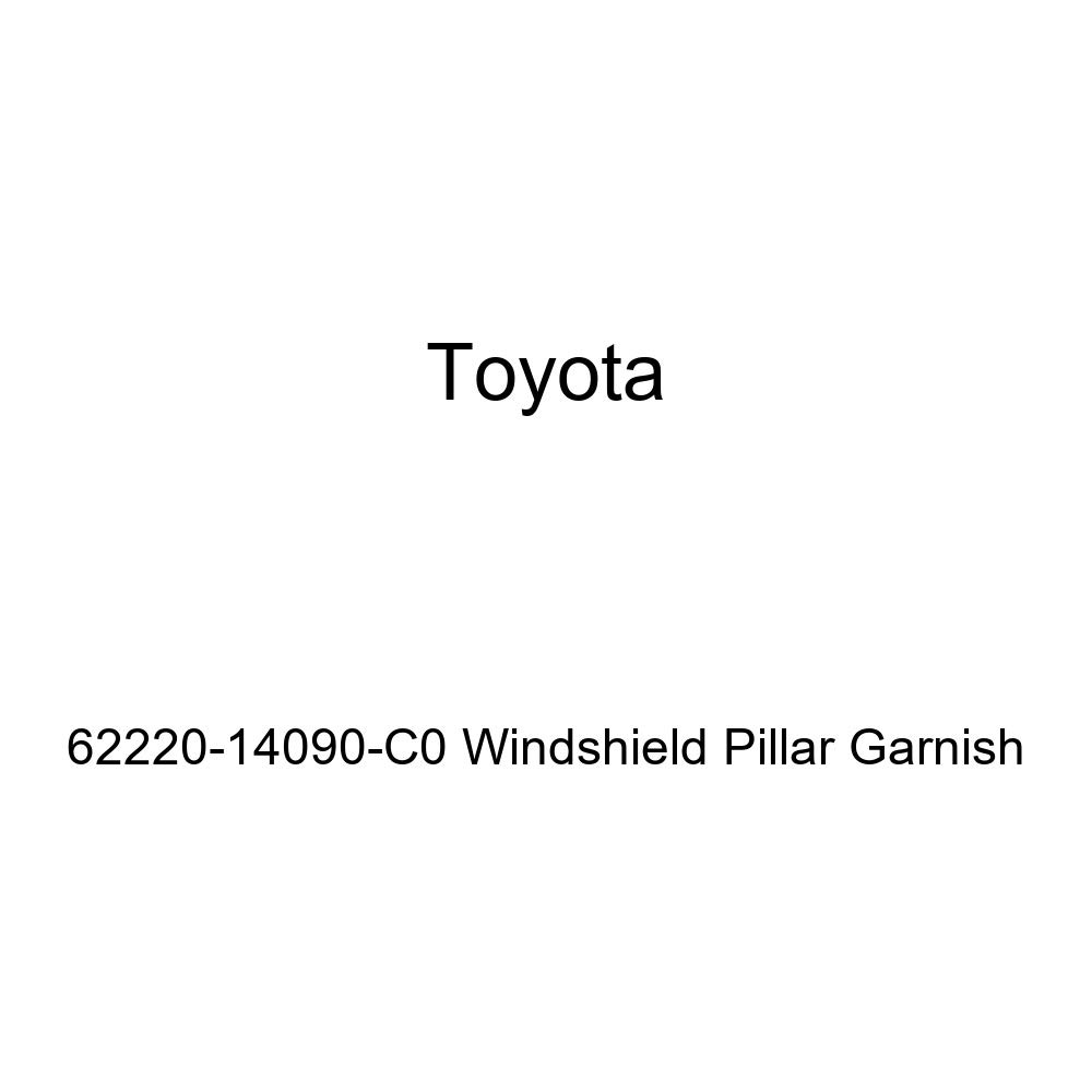 Toyota Genuine 62220-14090-C0 Windshield Pillar Garnish