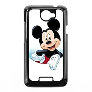 HTC One X Cell Phone Case Black Disney Mickey Mouse Minnie Mouse Phone cover R49373941