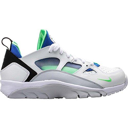 Compre barato para la venta Pago de Visa en línea Nike Air Huarache Entrenador Bajos Hombre Blanco / Azul Marino / Verde Gritar Precios de descuento lBYrEe