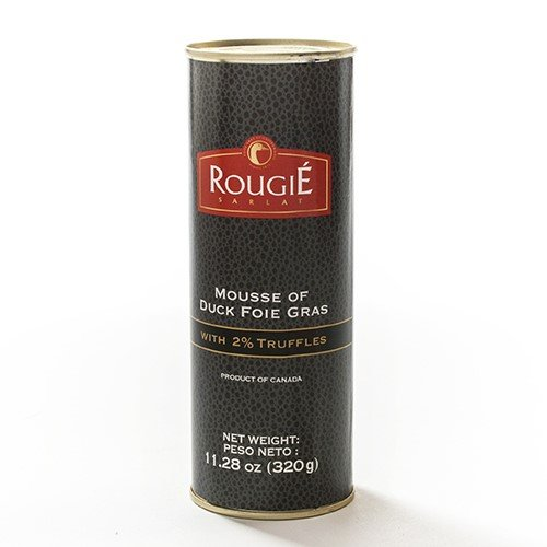 Mousse of Duck Foie Gras with 2% Truffle by Rougie (11.28 ounce) ()