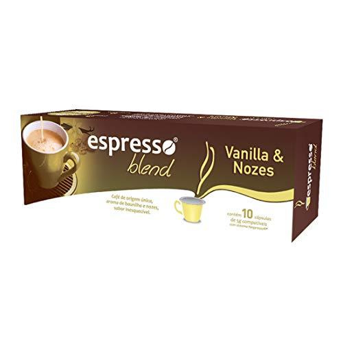 Cápsulas Espresso Blend Vanilla Nozes